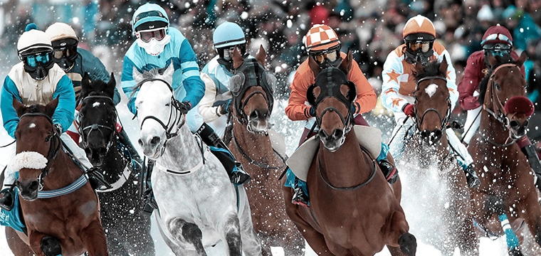 White Turf St. Moritz - International horse races since 1907