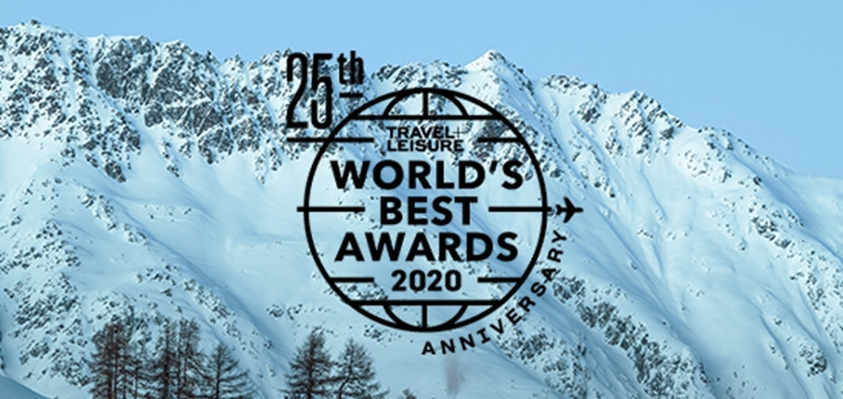 Travel + Leisure 2020 World's Best Awards