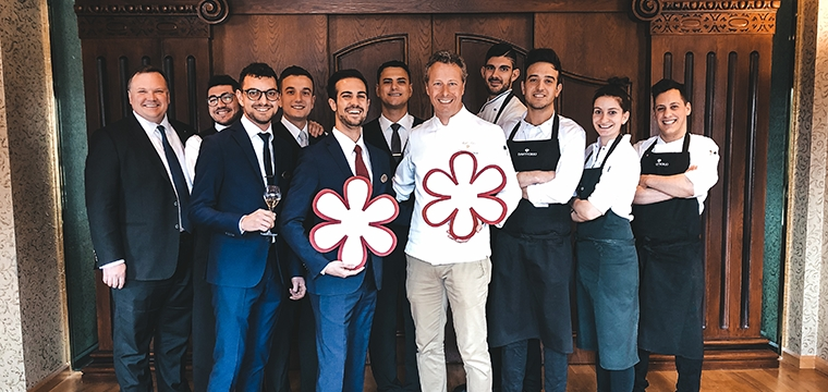 Two Michelin Stars for Da Vittorio