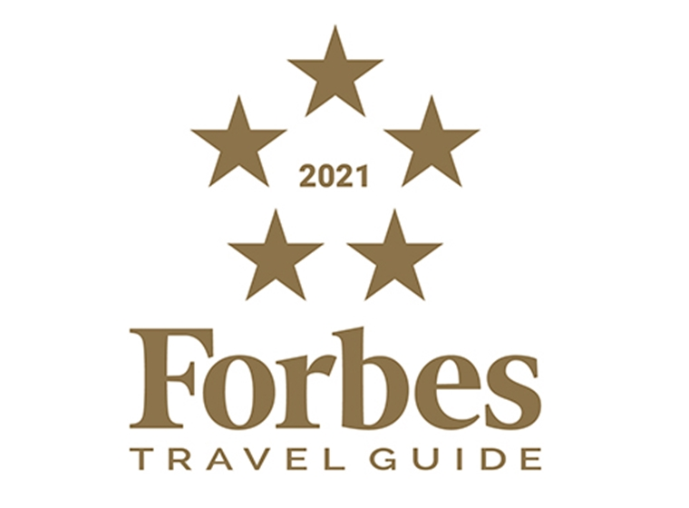 Forbes Travel Guide mit dem Five-Star Award