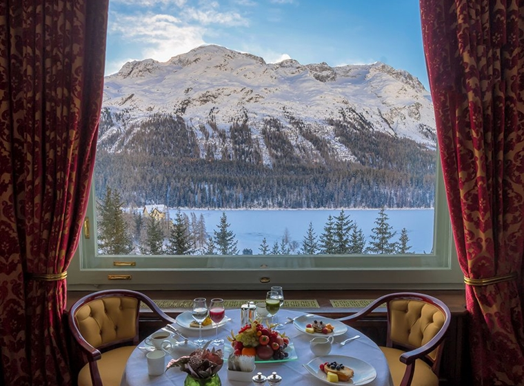 Forbes Instagram Guide to Carlton Hotel St. Moritz