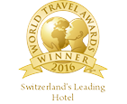 Switzerlands Leading Hotel 2016 Winner Shield 256