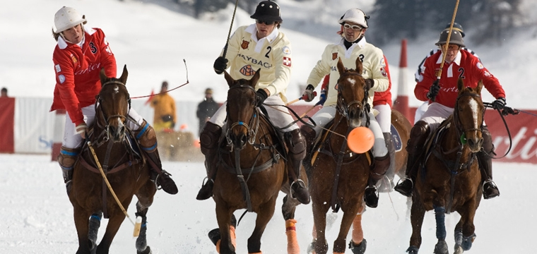 Experience the Snow Polo World Cup St. Moritz up close as a VIP