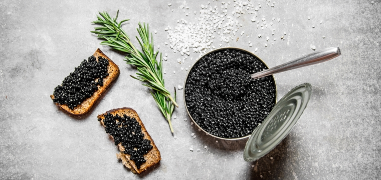 Culinary sensations for connoisseurs – Caviar Tasting